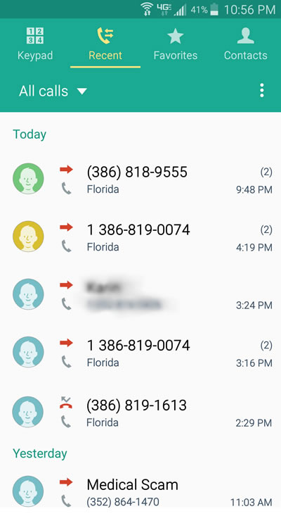 Fake Number IP Spoofing Robocalls